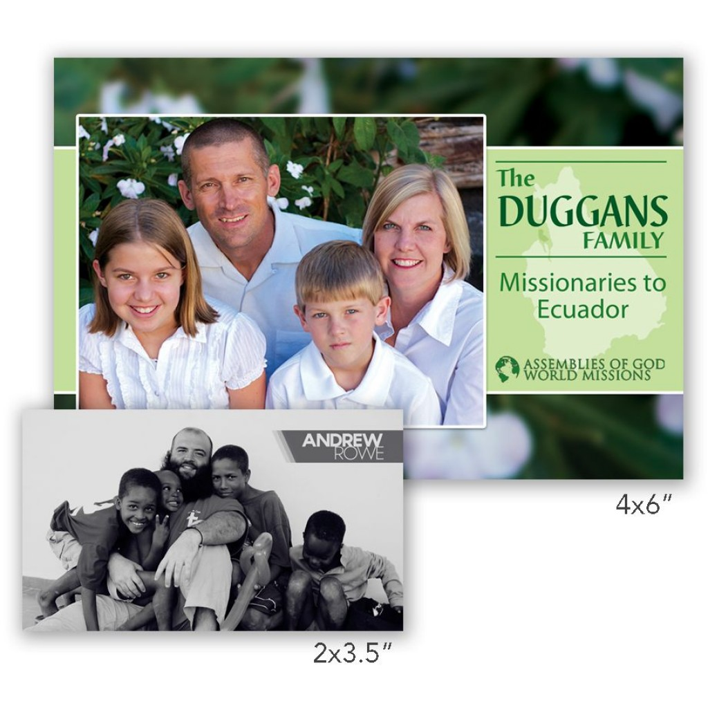 009 Top Missionary Prayer Card Template Design  FreeLarge