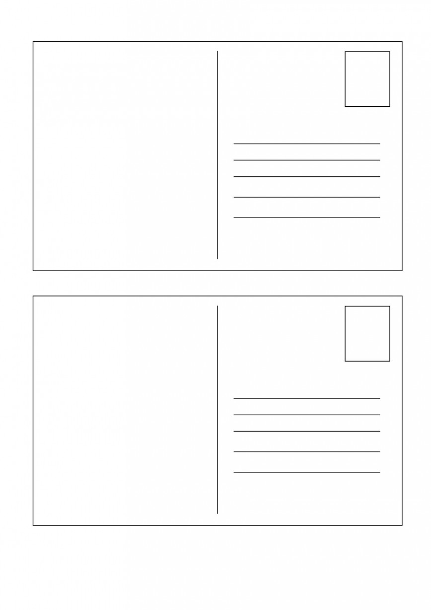 009 Top Postcard Layout For Microsoft Word Photo  Busines Template868