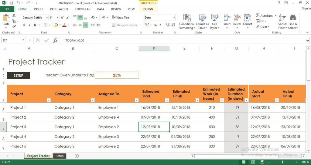 009 Top Project Tracker Excel Template Highest Quality  Sample Milestone FreeLarge