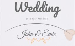 009 Top Sample Wedding Invitation Template High Resolution  Templates Wording Card