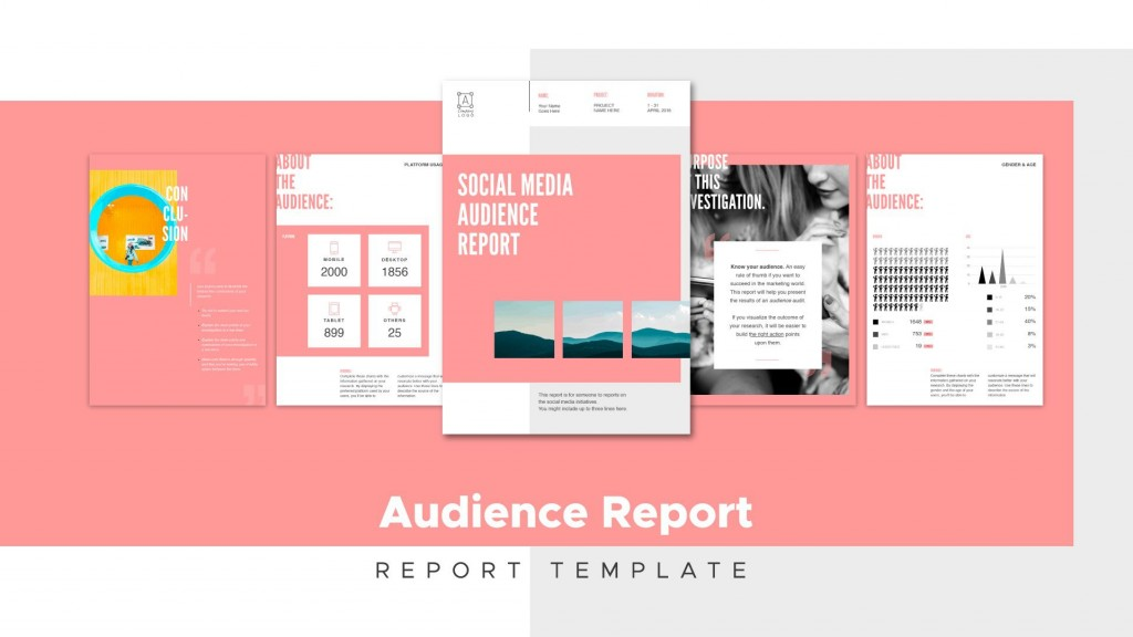 009 Top Social Media Report Template High Resolution  Powerpoint Free Download Analytic WordLarge