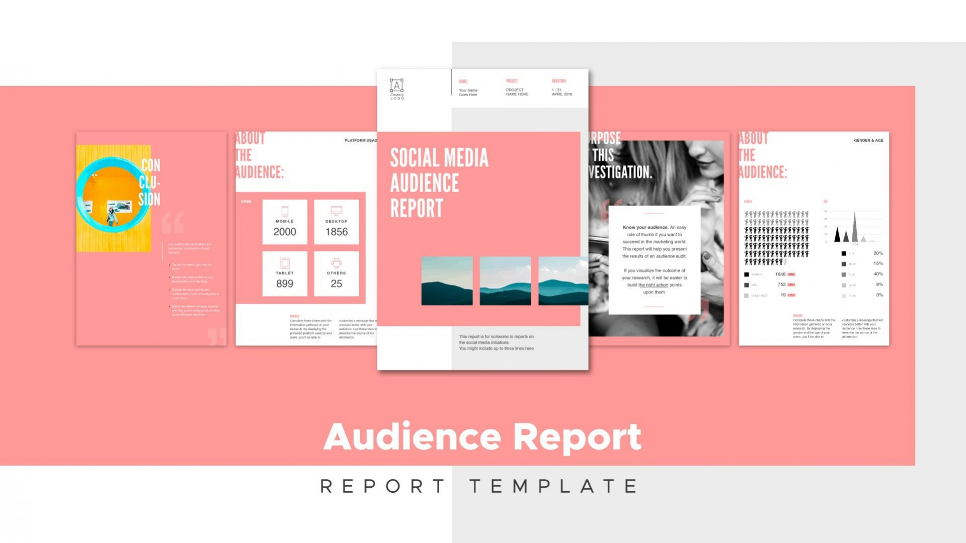 009 Top Social Media Report Template High Resolution  Powerpoint Free Download Analytic Word1920