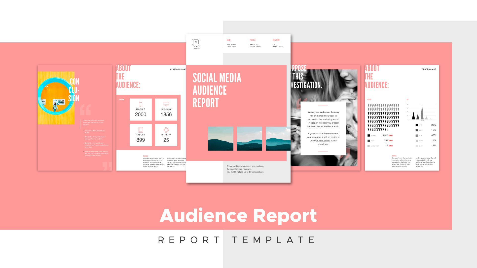 009 Top Social Media Report Template High Resolution  Powerpoint Free Download Analytic WordFull