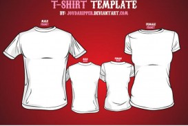 009 Top T Shirt Template Free Image  Design Psd Download Illustrator