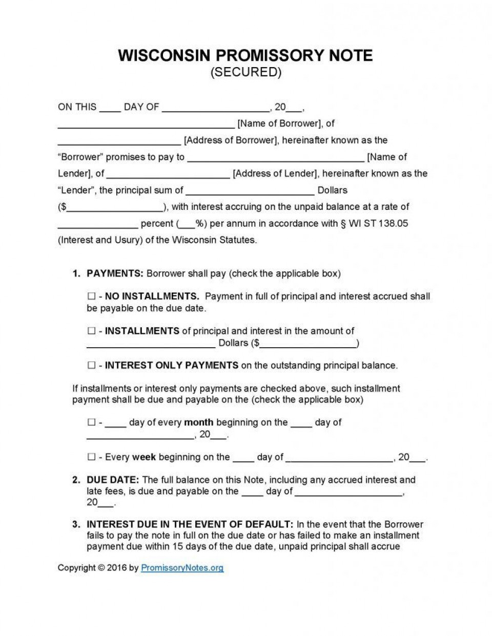 009 Top Template For Promissory Note Design  Free Personal Loan Uk960
