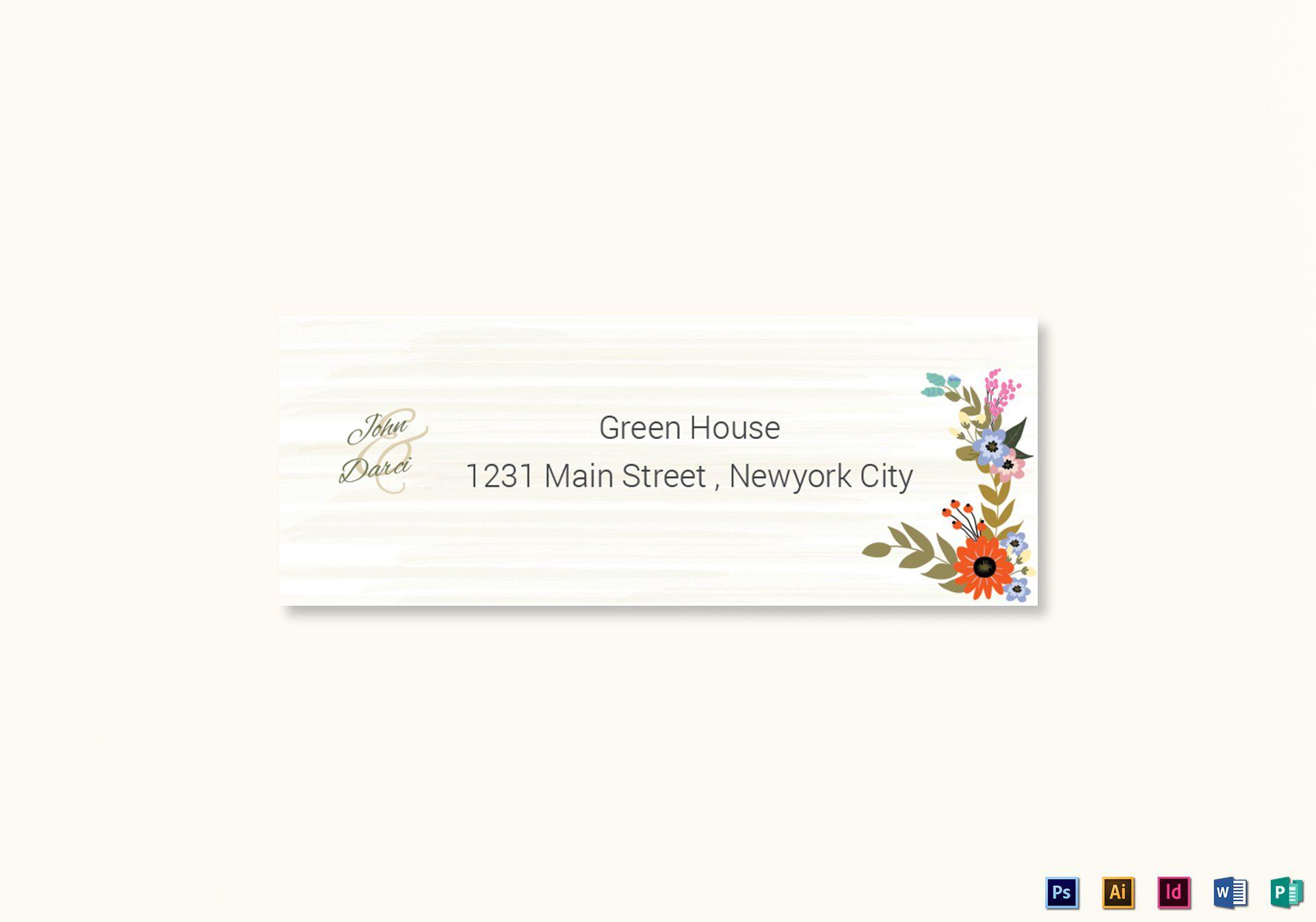009 Top Wedding Addres Label Template High Resolution  Free PrintableFull