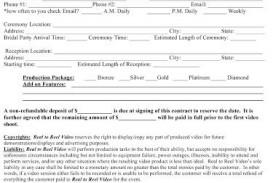 009 Top Wedding Planner Contract Template Highest Quality  Uk Australia