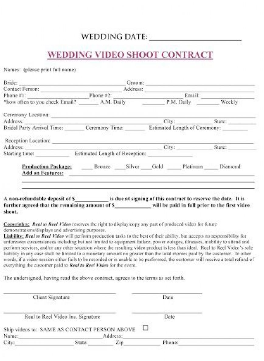 009 Top Wedding Planner Contract Template Highest Quality  Uk Australia868