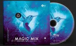 009 Unbelievable Cd Cover Design Template Photoshop Photo  Psd Free Download Memorex Label
