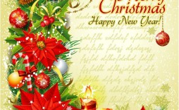 009 Unbelievable Christma Template Free Download Concept  Word Editable Card Tree