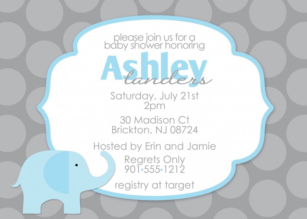 009 Unbelievable Diy Baby Shower Invitation Template Picture  Templates DiaperLarge