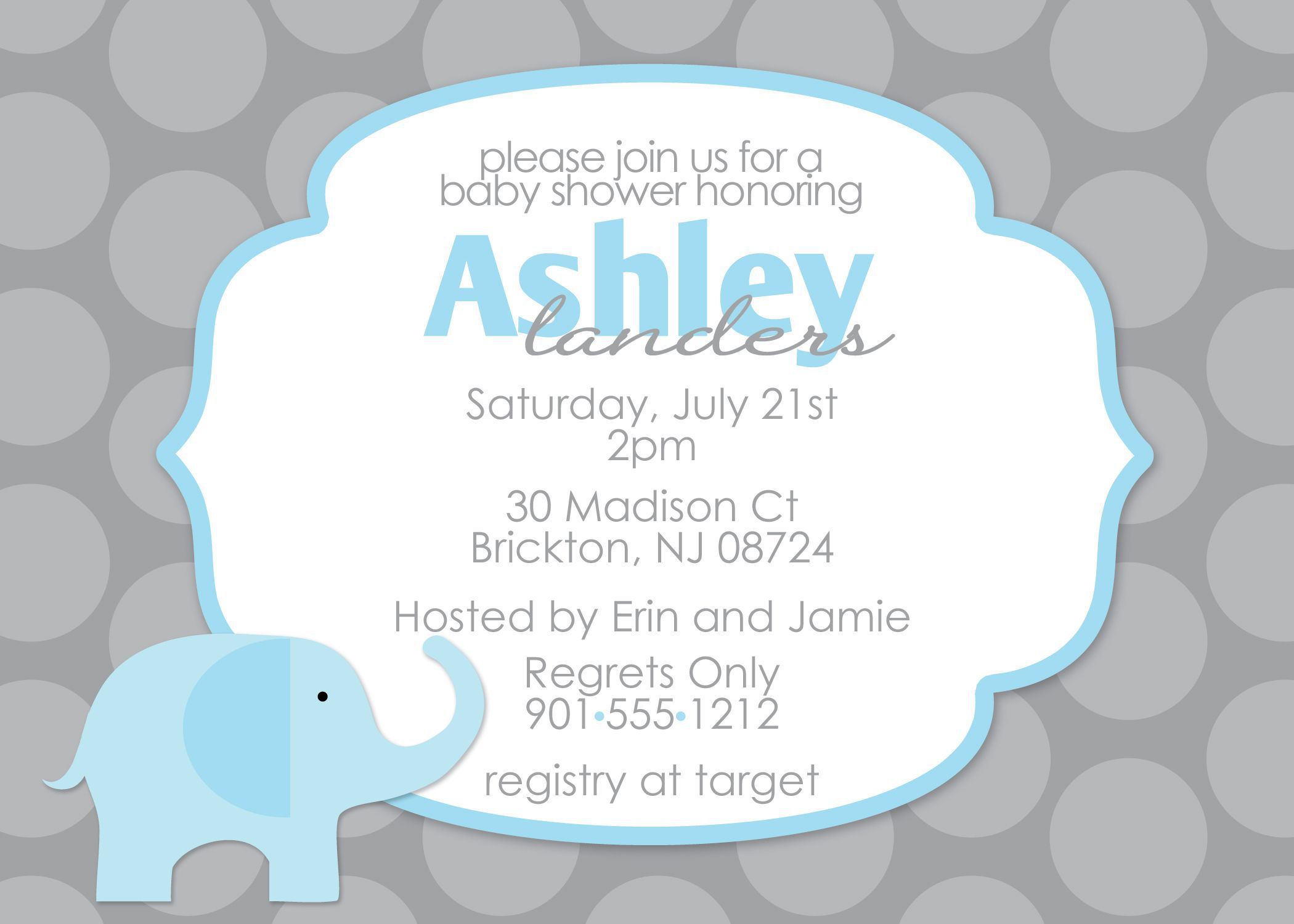 009 Unbelievable Diy Baby Shower Invitation Template Picture  Templates DiaperFull