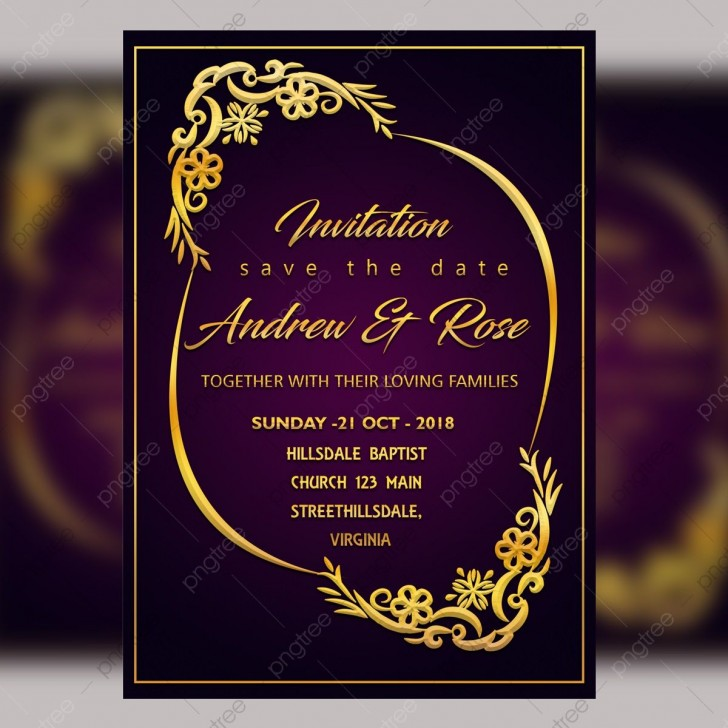 009 Unbelievable Free Download Invitation Card Template Psd Sample  Indian Wedding Birthday728