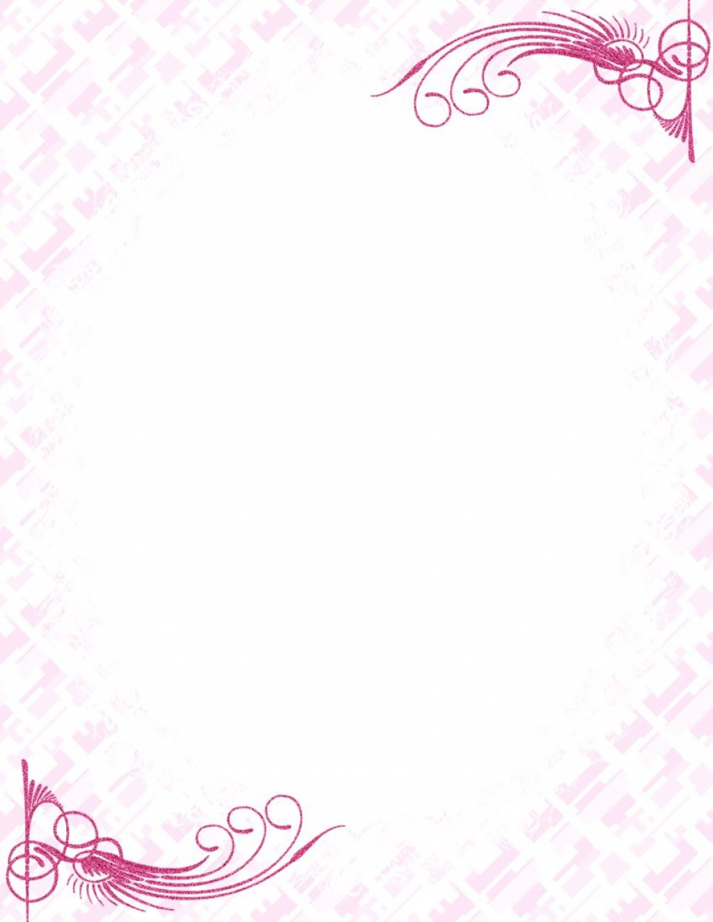 009 Unbelievable Free Printable Elegant Stationery Template Idea  TemplatesLarge