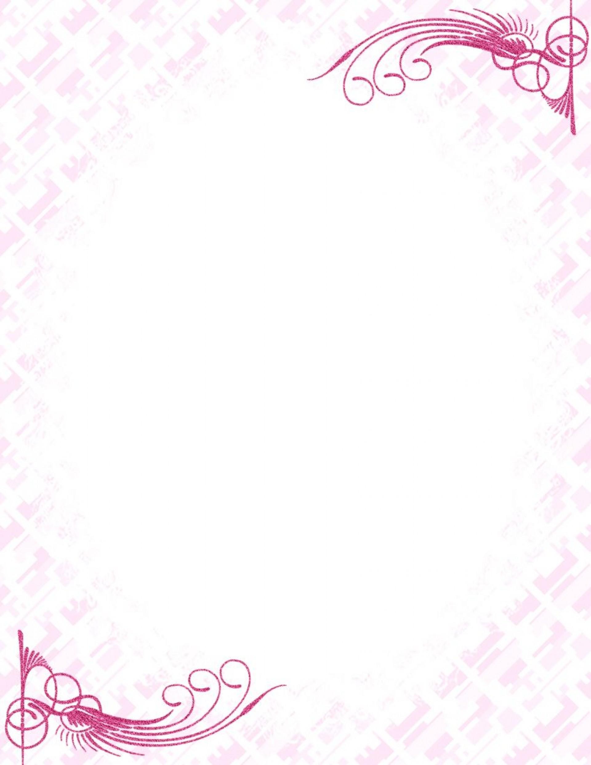 009 Unbelievable Free Printable Elegant Stationery Template Idea  Templates1920
