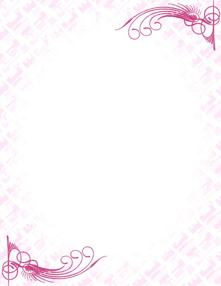 009 Unbelievable Free Printable Elegant Stationery Template Idea  TemplatesFull