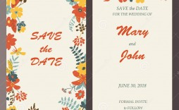 009 Unbelievable Free Save The Date Birthday Postcard Template Concept  Templates