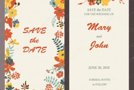 009 Unbelievable Free Save The Date Birthday Postcard Template Concept