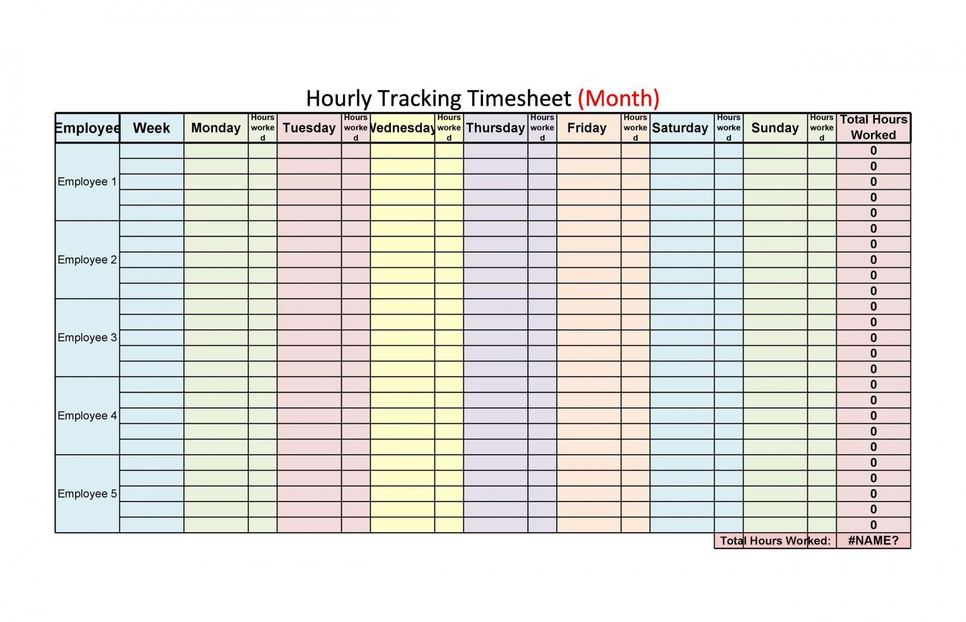 009 Unbelievable Hourly Work Schedule Template Word High Def 1920
