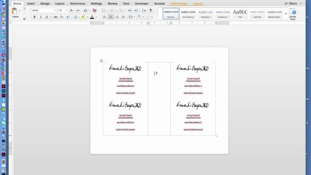 009 Unbelievable Microsoft Word Invitation Template 4 Per Page Example Large