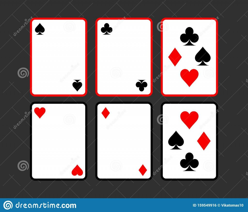 009 Unbelievable Playing Card Template Free Download High Resolution  BlankLarge