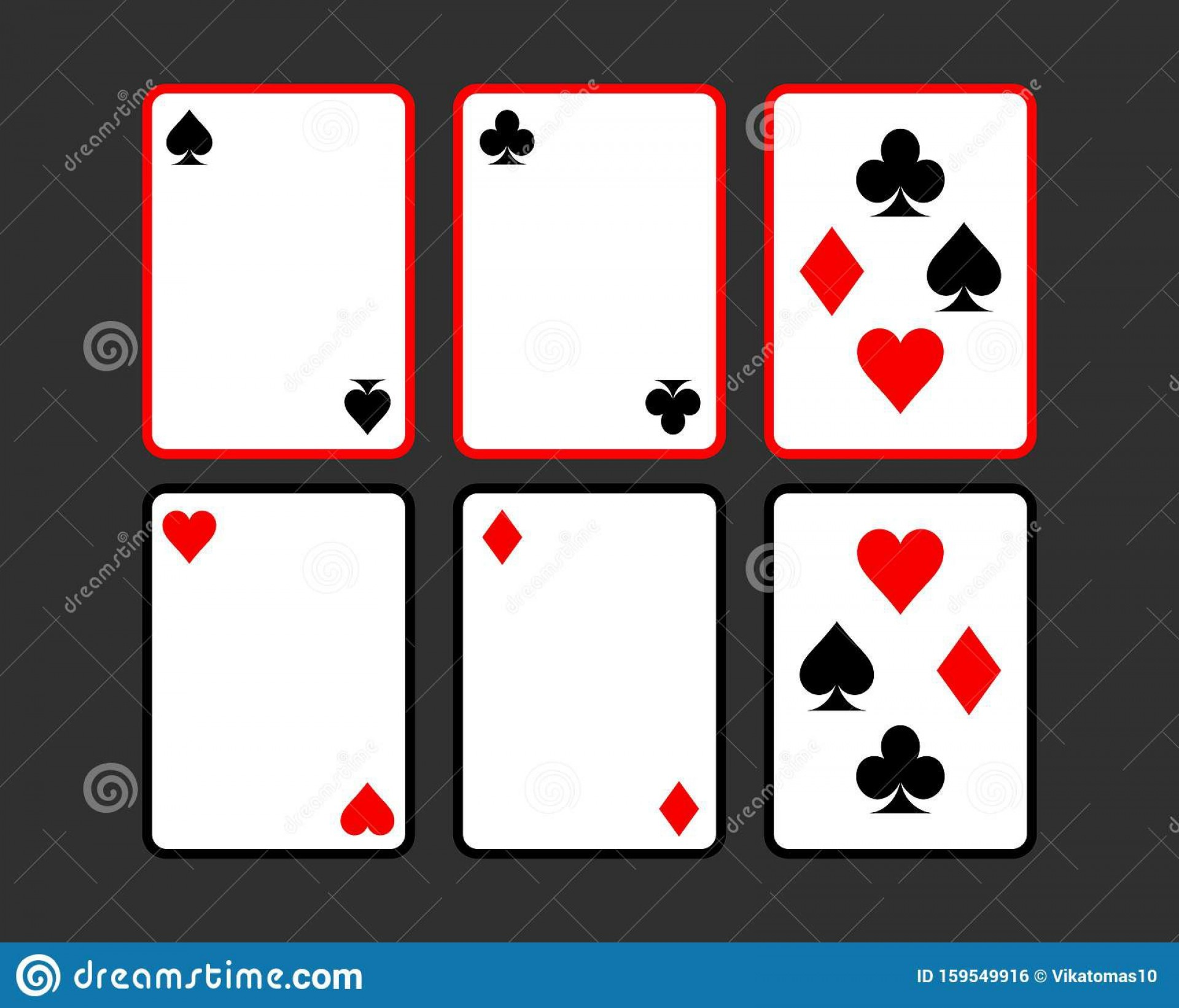 009 Unbelievable Playing Card Template Free Download High Resolution  Blank1920