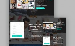 009 Unbelievable Responsive Landing Page Template Sample  Free Html With Flexbox Html5