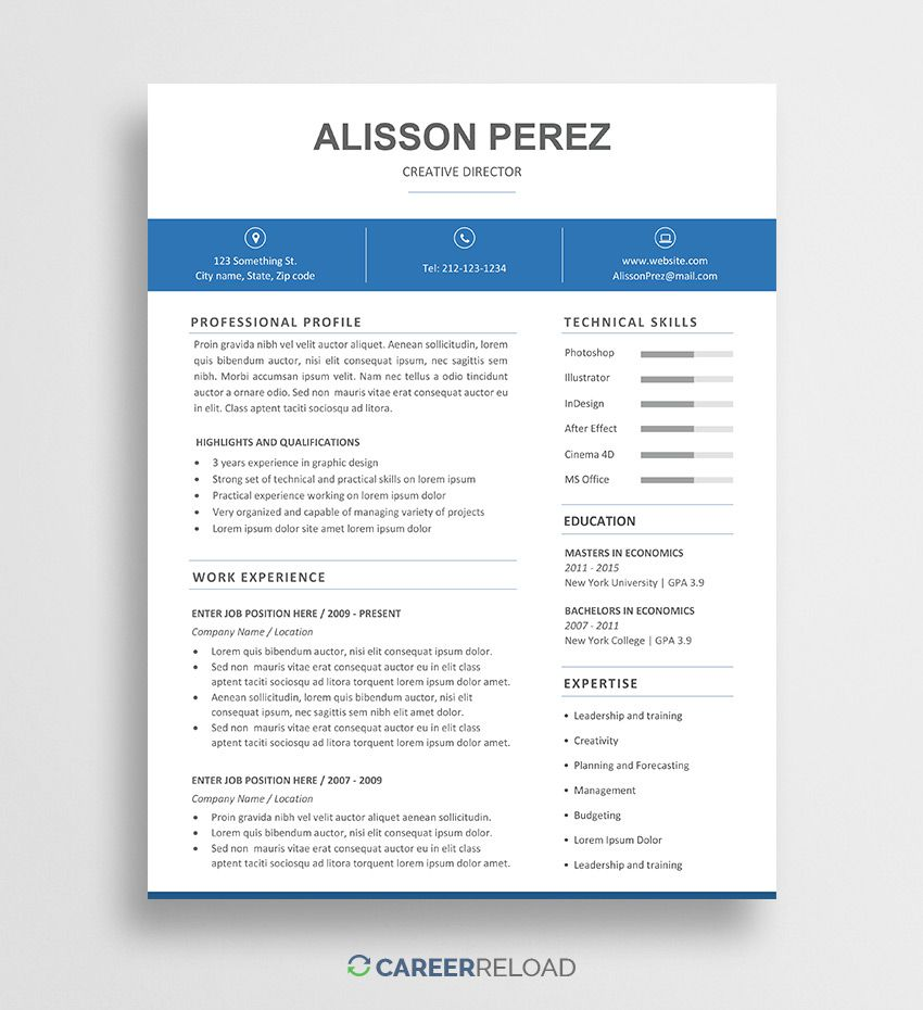 009 Unbelievable Resume Template Word Free Picture  Download India 2020Full