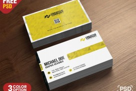 009 Unbelievable Simple Busines Card Template Psd High Definition  Design In Photoshop Minimalist Free