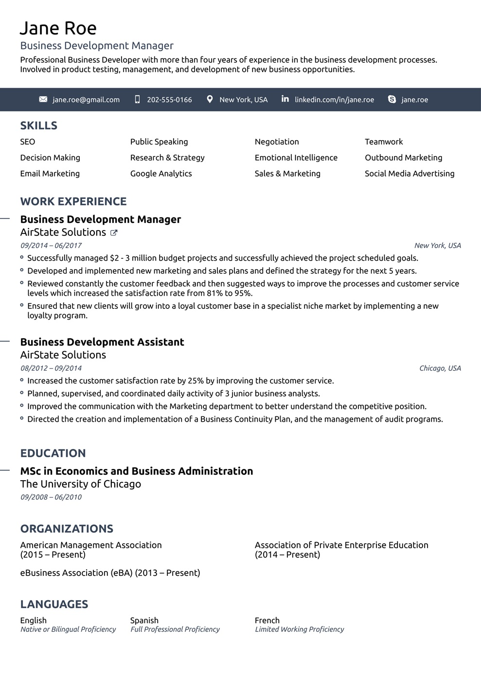 009 Unbelievable Simple Job Resume Template Concept  Download FirstFull