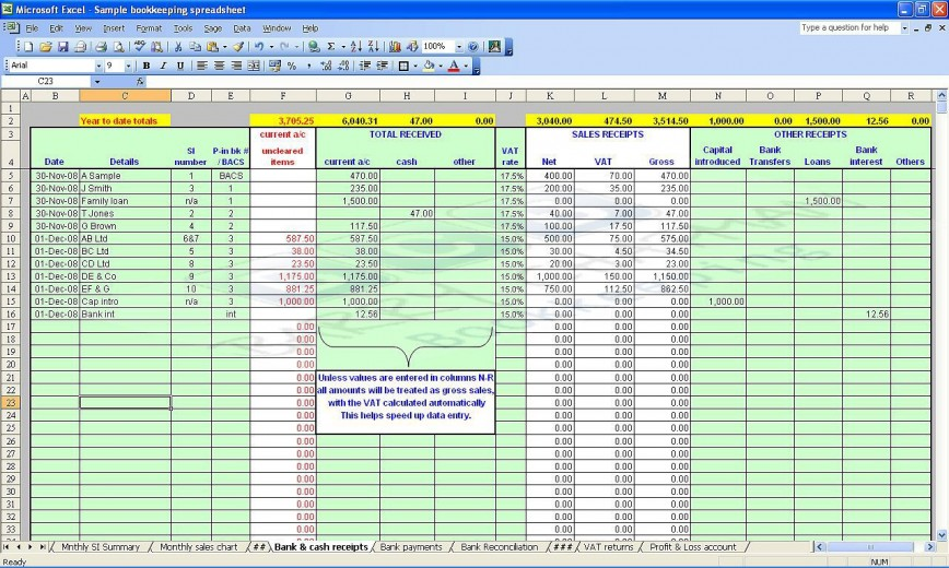 Microsoft Excel Accounting Template from www.addictionary.org