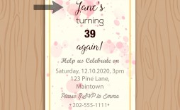 009 Unforgettable Birthday Invitation Wording Example Idea  Examples Party Invite Brunch