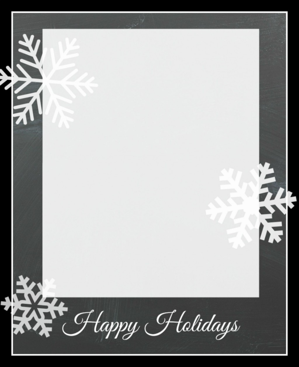 009 Unforgettable Free Download Holiday Card Template Photo Large
