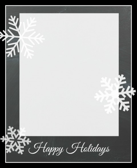 009 Unforgettable Free Download Holiday Card Template Photo 480