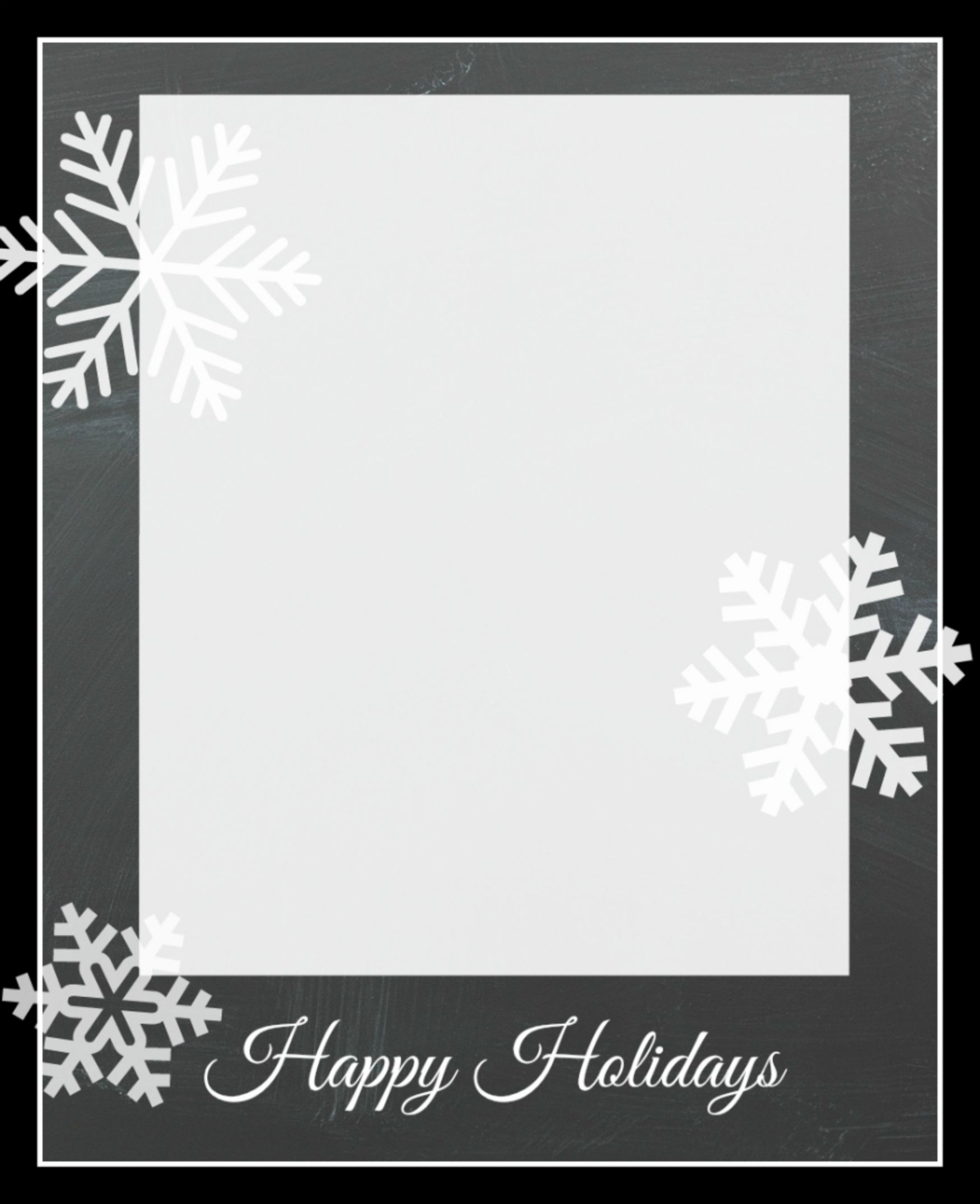 009 Unforgettable Free Download Holiday Card Template Photo Full