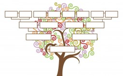 009 Unforgettable Free Editable Family Tree Template Image  Templates Pdf Powerpoint With Photo