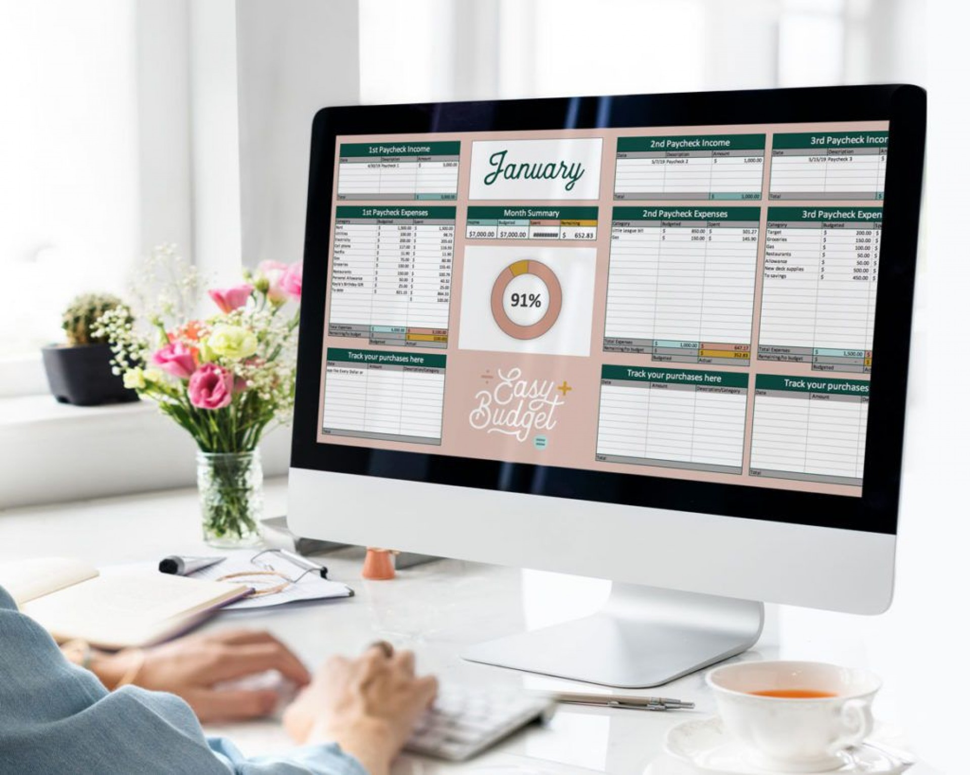 009 Unforgettable Free Monthly Budget Template Download Example  Excel Planner1920