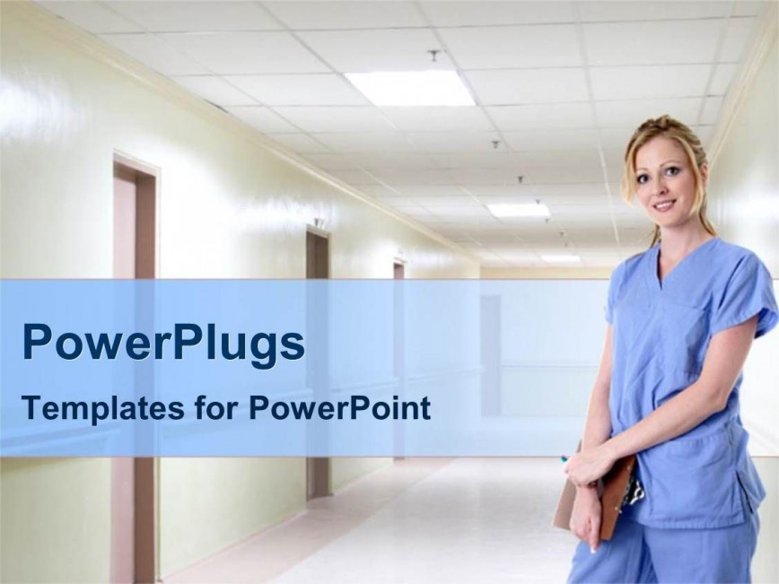 009 Unforgettable Free Nursing Powerpoint Template Picture  Education Download868