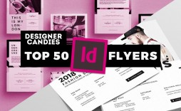 009 Unforgettable In Design Flyer Template Example  Indesign Free Adobe Download