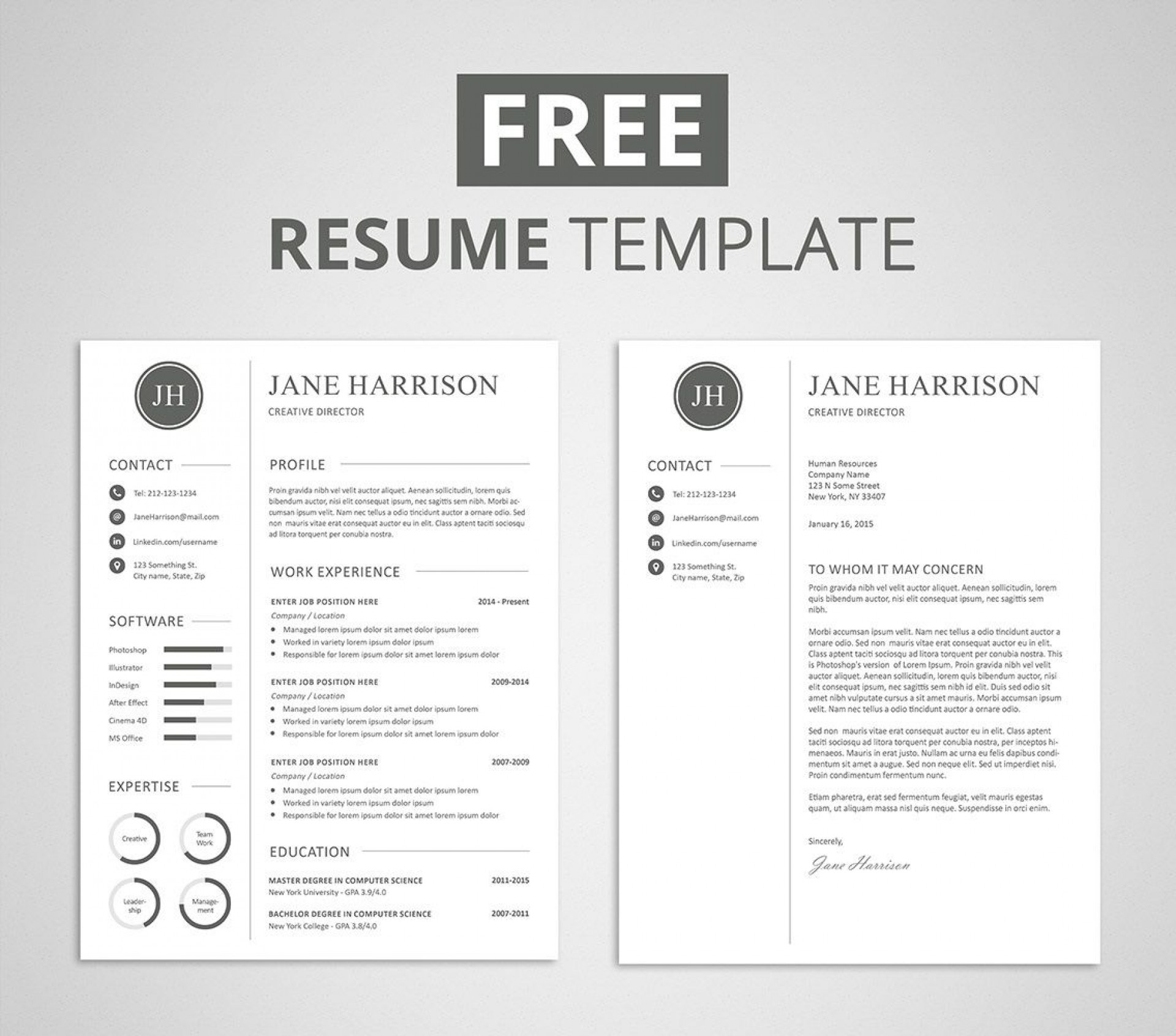 009 Unforgettable Resume Cover Letter Template Free High Def  Simple Online Microsoft1920