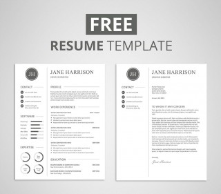 009 Unforgettable Resume Cover Letter Template Free High Def  Simple Online Microsoft320