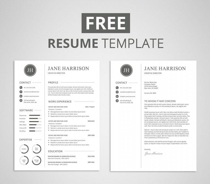 009 Unforgettable Resume Cover Letter Template Free High Def  Simple Online Microsoft728
