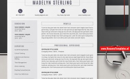 009 Unforgettable Resume Template On Microsoft Word Example  Sample 2007 Cv 2010