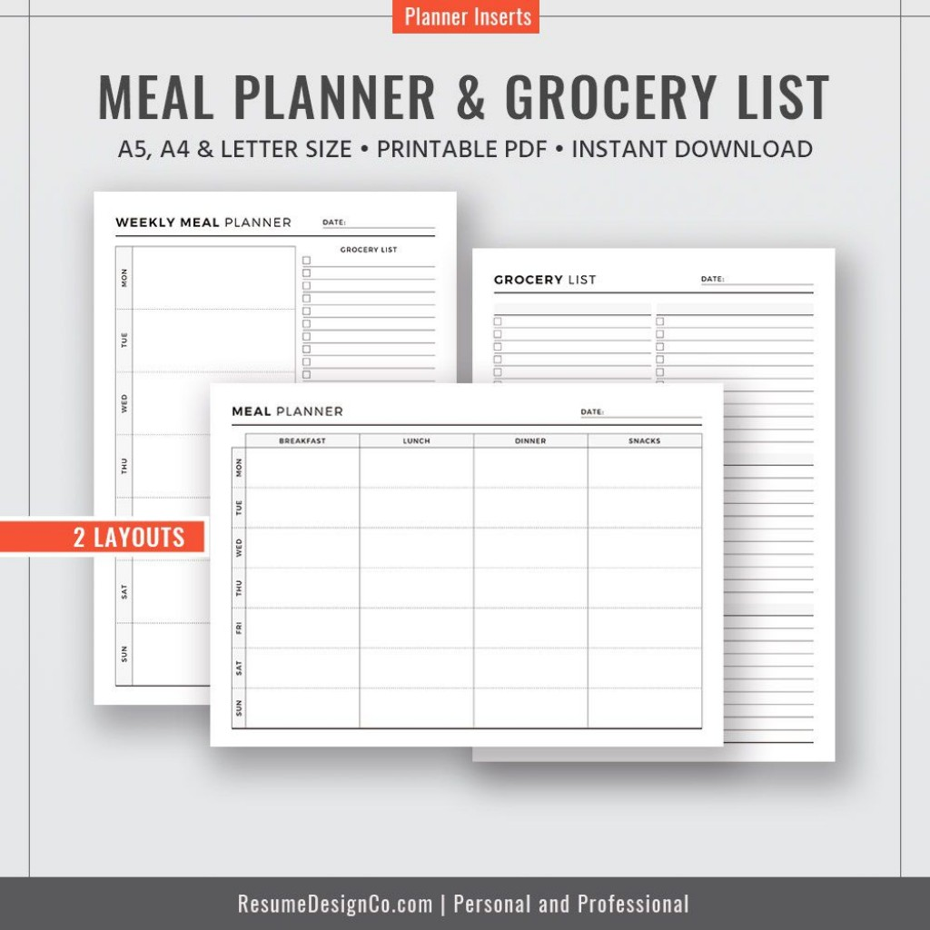 009 Unforgettable Weekly Meal Planning Worksheet Pdf Photo  FreeLarge
