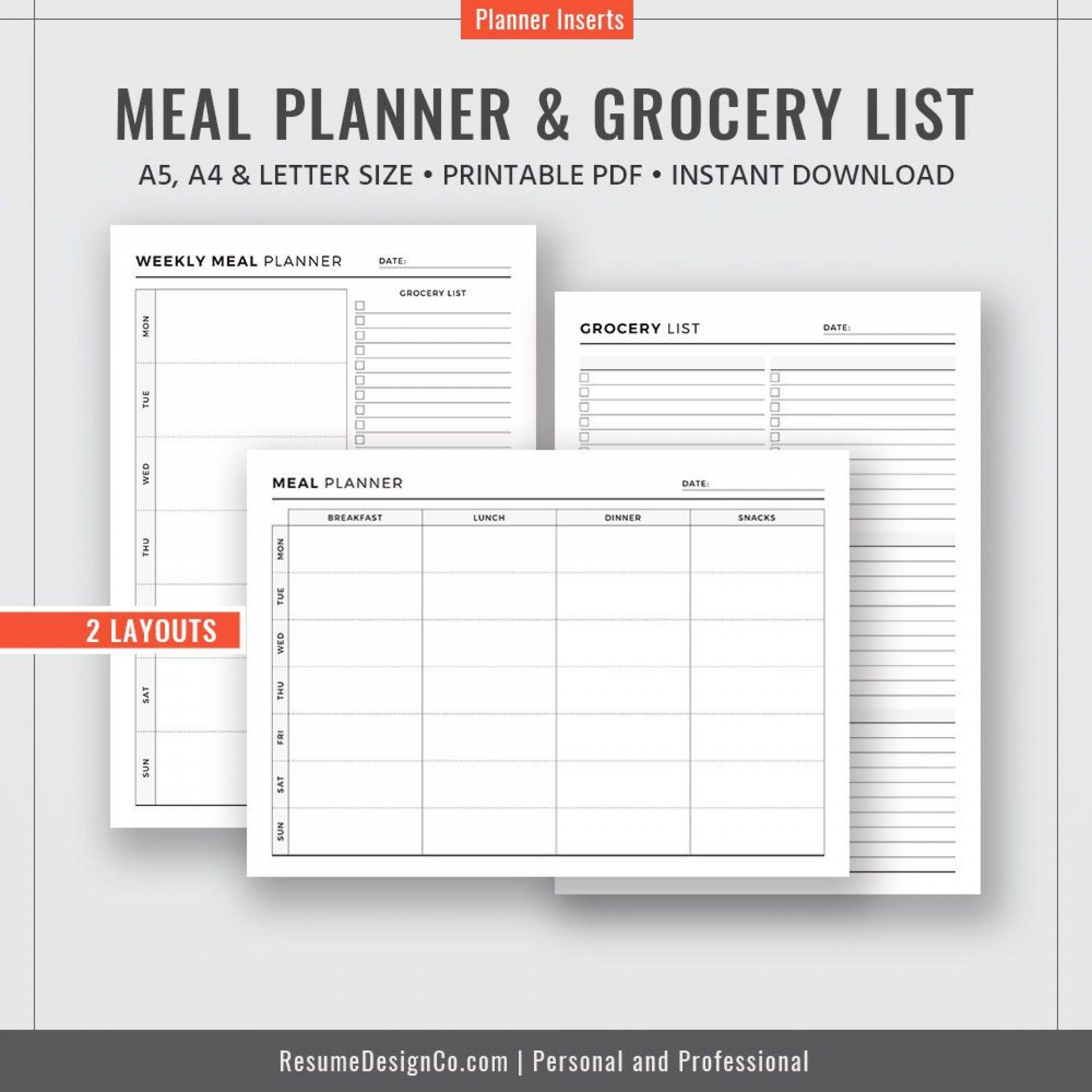 009 Unforgettable Weekly Meal Planning Worksheet Pdf Photo  Free1920
