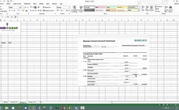 009 Unique Bank Reconciliation Statement Format Excel Sheet Design  Download