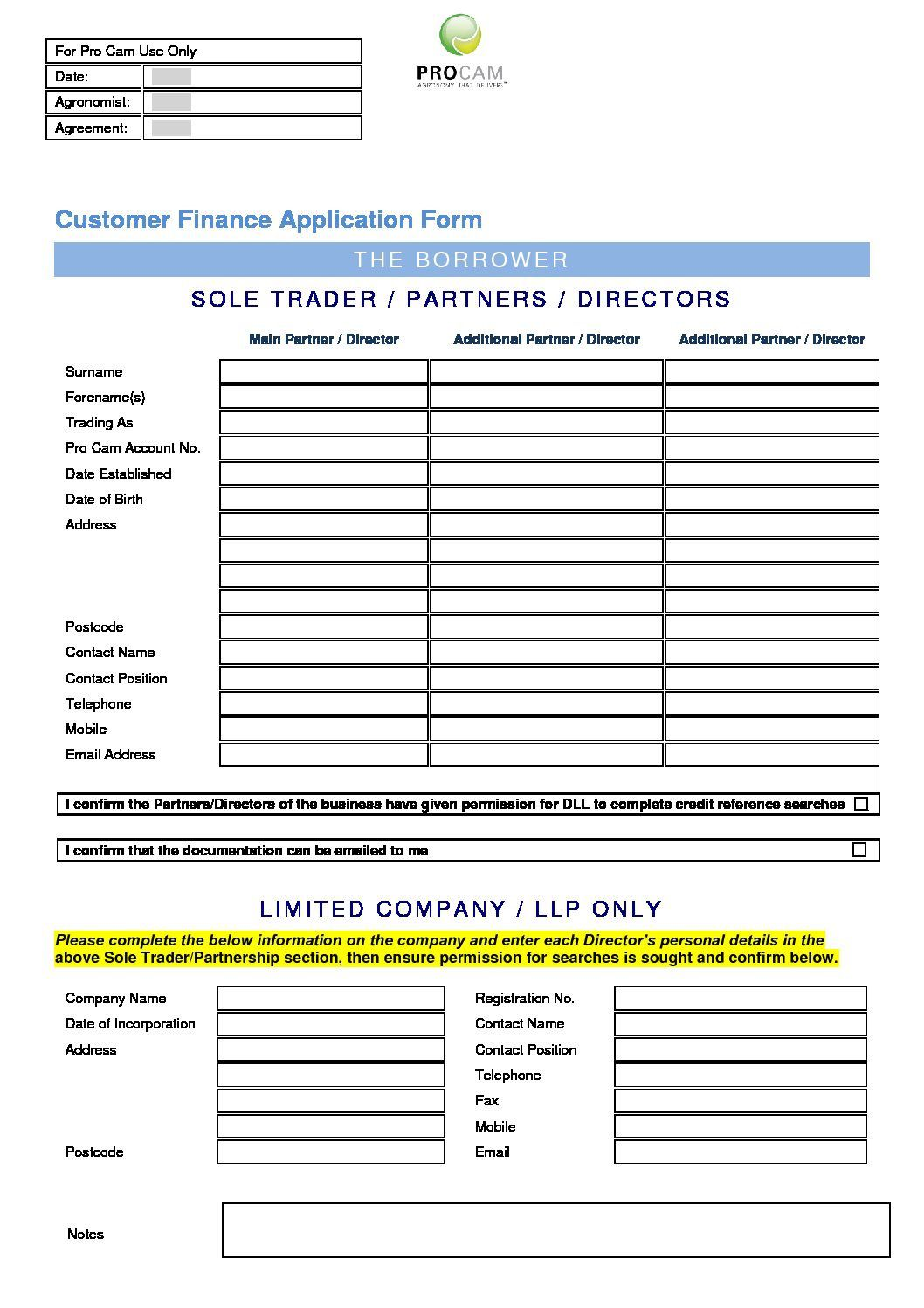 009 Unique Busines Credit Application Form Uk Image  Template Free AccountFull