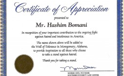009 Unique Certificate Of Recognition Sample Wording Example  Award