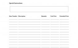 009 Unique Free Order Form Template Picture  Sale Excel Pdf