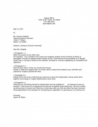 009 Unique General Job Cover Letter Template Example  Application320